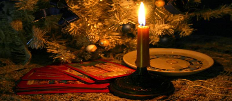 Гадания в новый год и рождество на картах