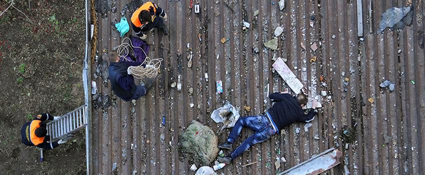 Падение балкона 2016.
