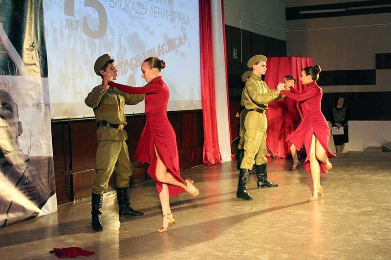 сценка 75 лет снятия блокады ленинграда контур