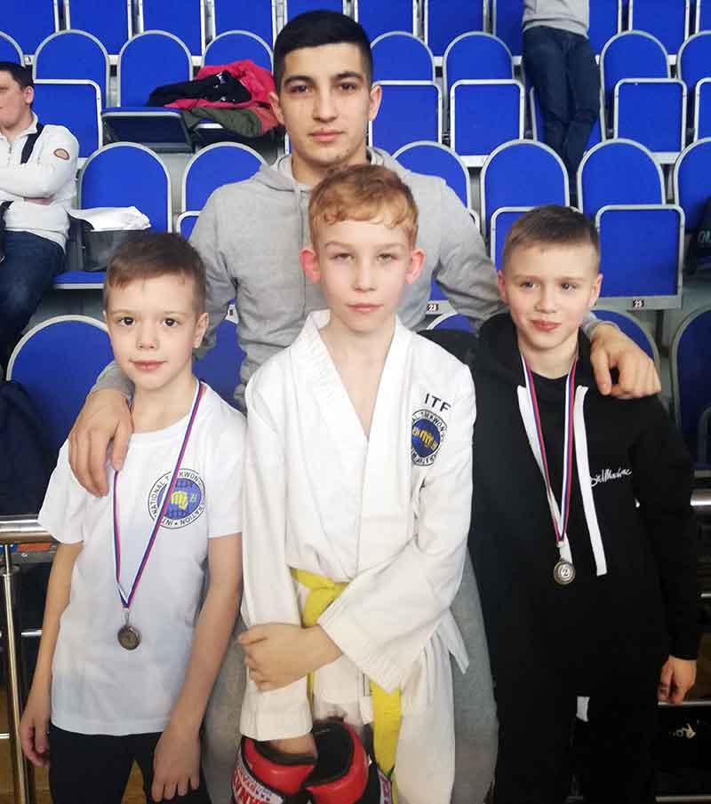 Юные спортсмены привезли в Ковров 8 медалей открытого турнира по тхэквондо